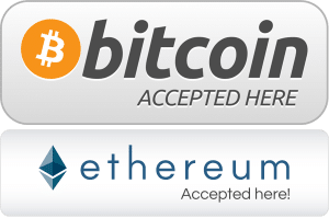 web hosting bitcoins and etherium accepted